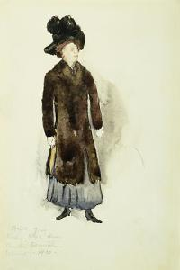 Aunt Ellen, 1910 by Charles Demuth