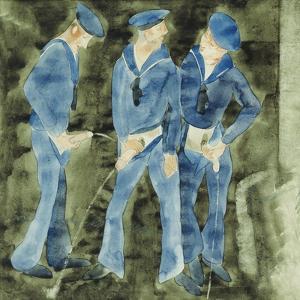 Three Sailors by Charles Demuth