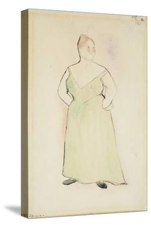 Woman in Evening Dress, 1912