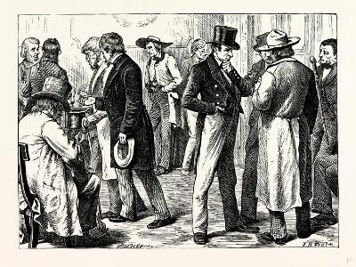 Charles Dickens American Notes 1842 in the White House--Giclee Print