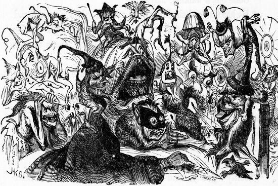 Charles Dickens Barnaby Rudge, 1841--Giclee Print