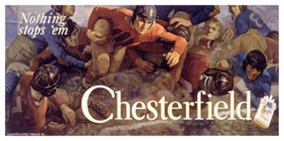 Chesterfield, Nothing Stops 'Em! by Charles E. Chambers