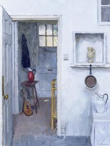 Interior with Red Jug, 2005 by Charles E. Hardaker