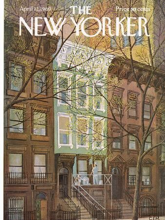The New Yorker Cover - April 12, 1969