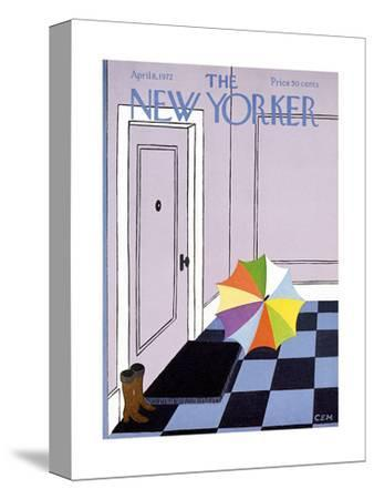 The New Yorker Cover - April 8, 1972
