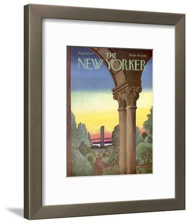The New Yorker Cover - August 19, 1967
