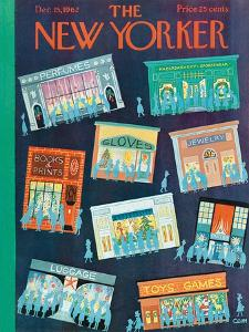 The New Yorker Cover - December 15, 1962 by Charles E. Martin