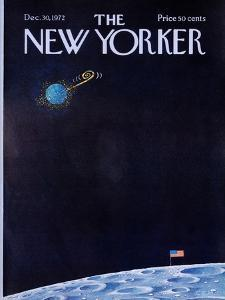 The New Yorker Cover - December 30, 1972 by Charles E. Martin