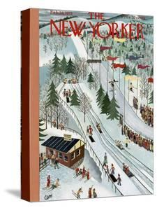 The New Yorker Cover - February 28, 1953 by Charles E. Martin