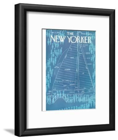 The New Yorker Cover - January 13, 1962