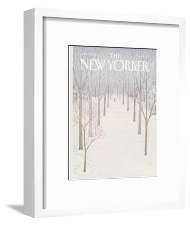 The New Yorker Cover - January 26, 1981