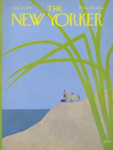 The New Yorker Cover - July 13, 1968 by Charles E. Martin