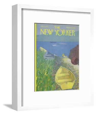 The New Yorker Cover - July 15, 1972