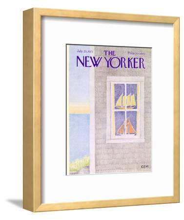 The New Yorker Cover - July 23, 1973