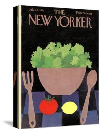 The New Yorker Cover - July 24, 1971