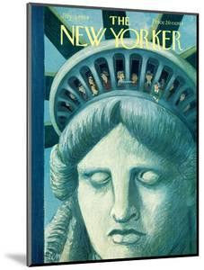 The New Yorker Cover - July 3, 1954 by Charles E. Martin