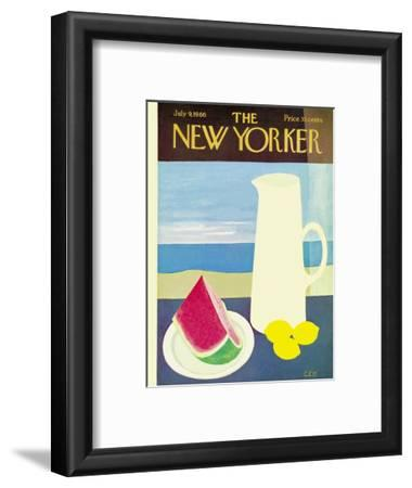 The New Yorker Cover - July 9, 1966