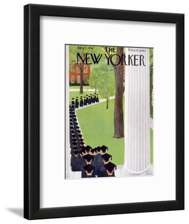 The New Yorker Cover - June 2, 1956