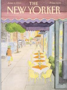 The New Yorker Cover - June 4, 1984 by Charles E. Martin