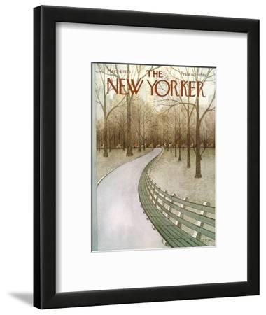 The New Yorker Cover - March 24, 1975