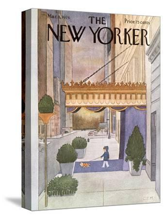 The New Yorker Cover - March 8, 1976