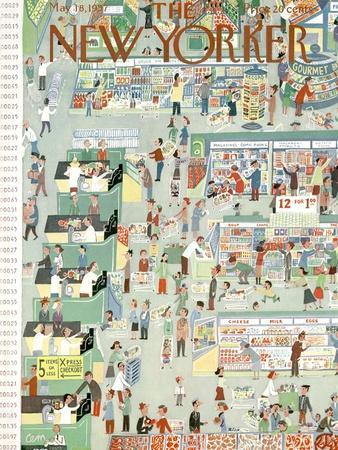 The New Yorker Cover - May 18, 1957