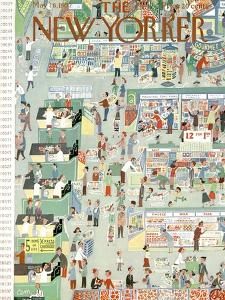 The New Yorker Cover - May 18, 1957 by Charles E. Martin