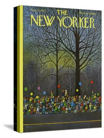 The New Yorker Cover - November 25, 1972