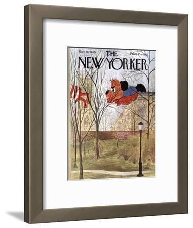 The New Yorker Cover - November 26, 1966