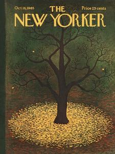 The New Yorker Cover - October 16, 1965 by Charles E. Martin