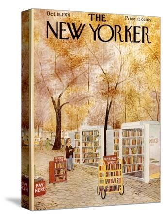 The New Yorker Cover - October 18, 1976