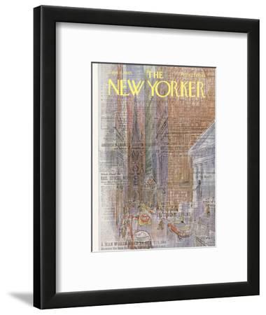 The New Yorker Cover - September 11, 1965