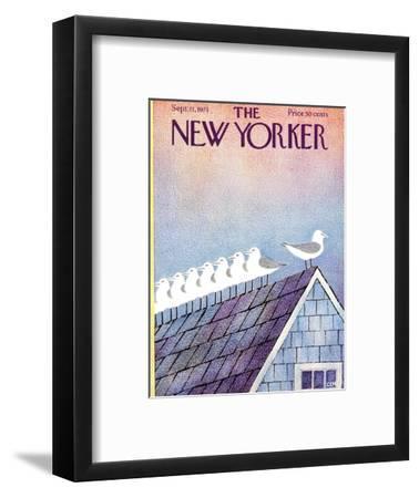 The New Yorker Cover - September 11, 1971