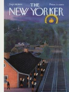 The New Yorker Cover - September 19, 1964 by Charles E. Martin