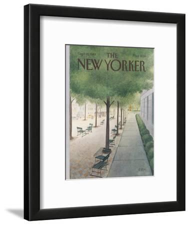 The New Yorker Cover - September 19, 1983