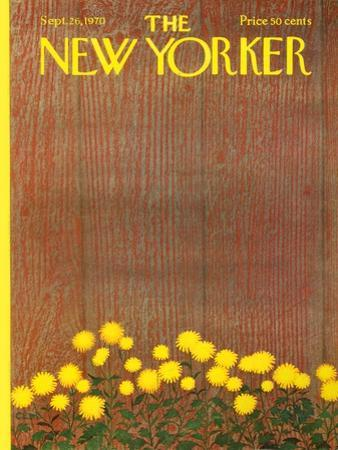 The New Yorker Cover - September 26, 1970 by Charles E. Martin