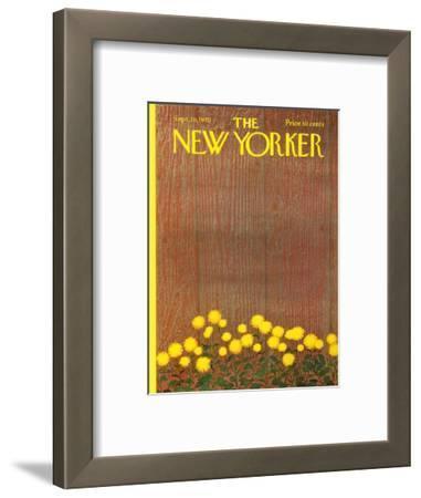 The New Yorker Cover - September 26, 1970