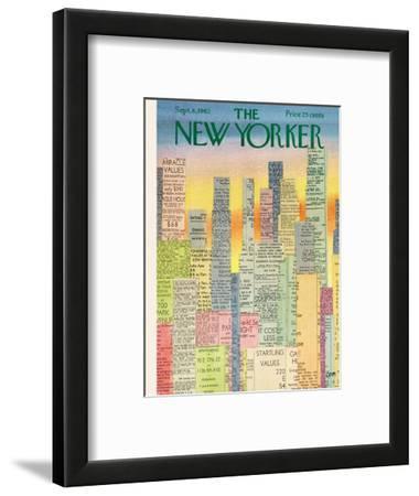 The New Yorker Cover - September 8, 1962