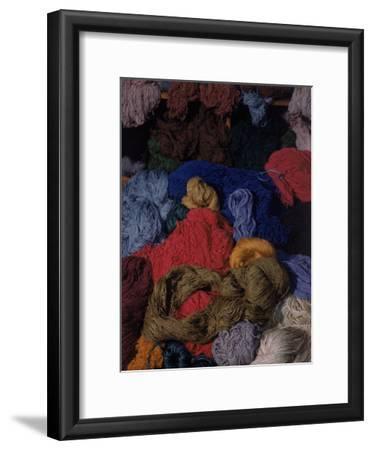 Bundles of Yarn by Textile Designer Dorothy Liebes