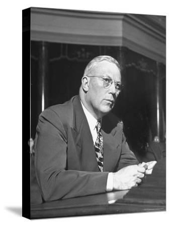 Gov. Earl Warren of California