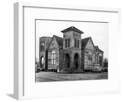 Wooden African American Baptist Church