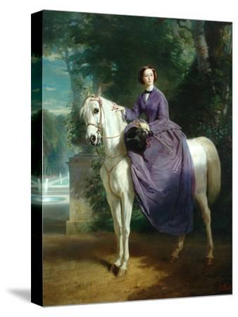 Empress Eugenie, 1857 by Charles Edouard Boutibonne