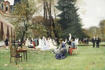 The Wedding, Fontainebleu; Les Noces, Fontainbleu