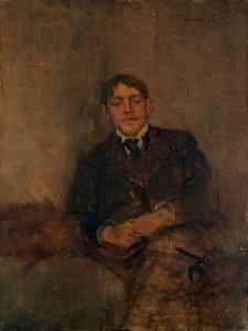 Self-Portrait, c.1895 by Charles Edward Conder