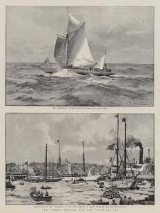 The Coming Contest for the America Cup by Charles Edward Dixon
