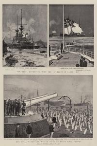 The Naval Manoeuvres by Charles Edward Dixon