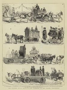 The Preston Guild Festival, the Trophies in the Trades Procession by Charles Edwin Fripp