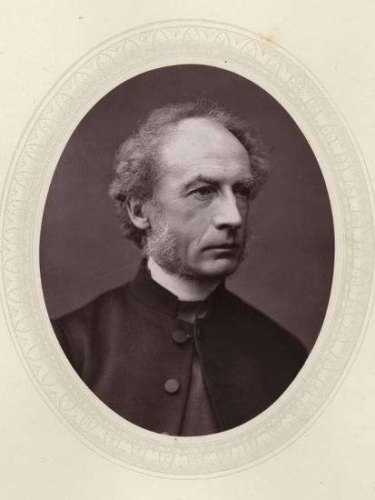Charles Ellicott, English Theologian and Bishop of Gloucester and Bristol--Photographic Print