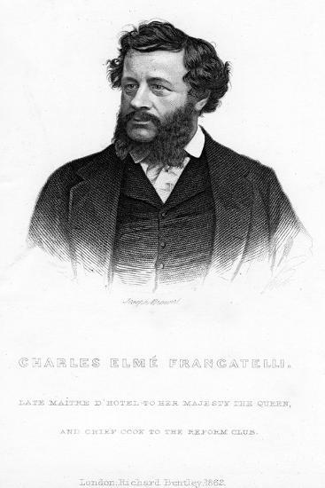 Charles Elme Francatelli, 1862--Giclee Print