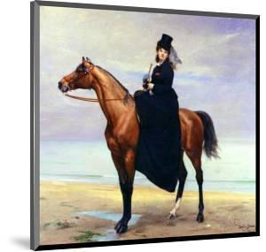 Equestrian Portrait of Mademoiselle Croizette, 1873 by Charles Émile Carolus-Duran